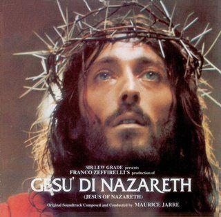 Copertina Gesù di Nazareth, film di Franco Zeffirelli