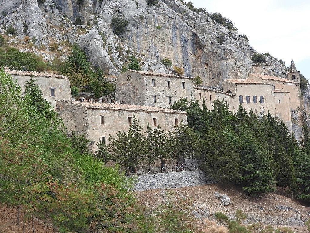 Panoramica Santuario Santa Maria delle Armi Cerchiara di Calabria (CS)
