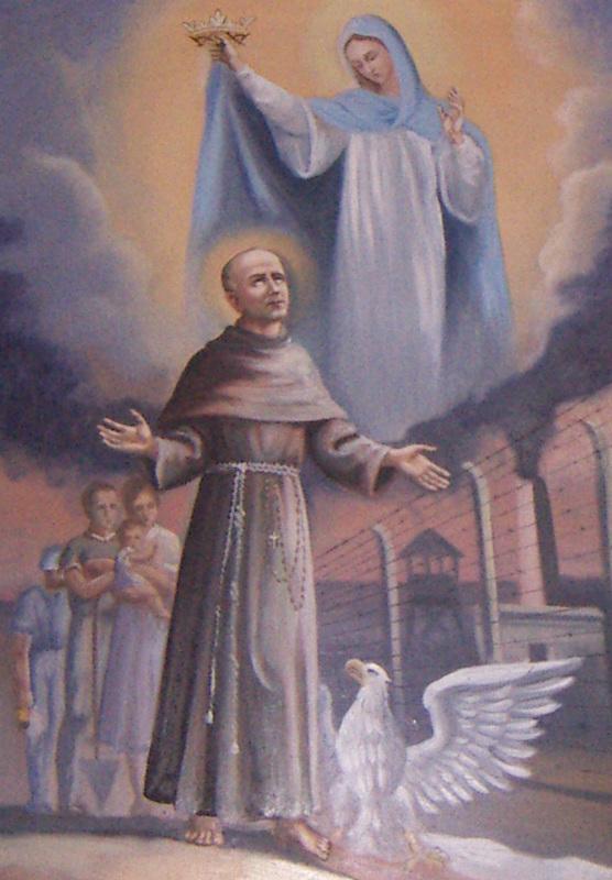 Massimiliano Kolbe e la Madonna
