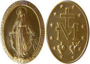 Medaglia miracolosa tramandata da santa Caterina Labouré
