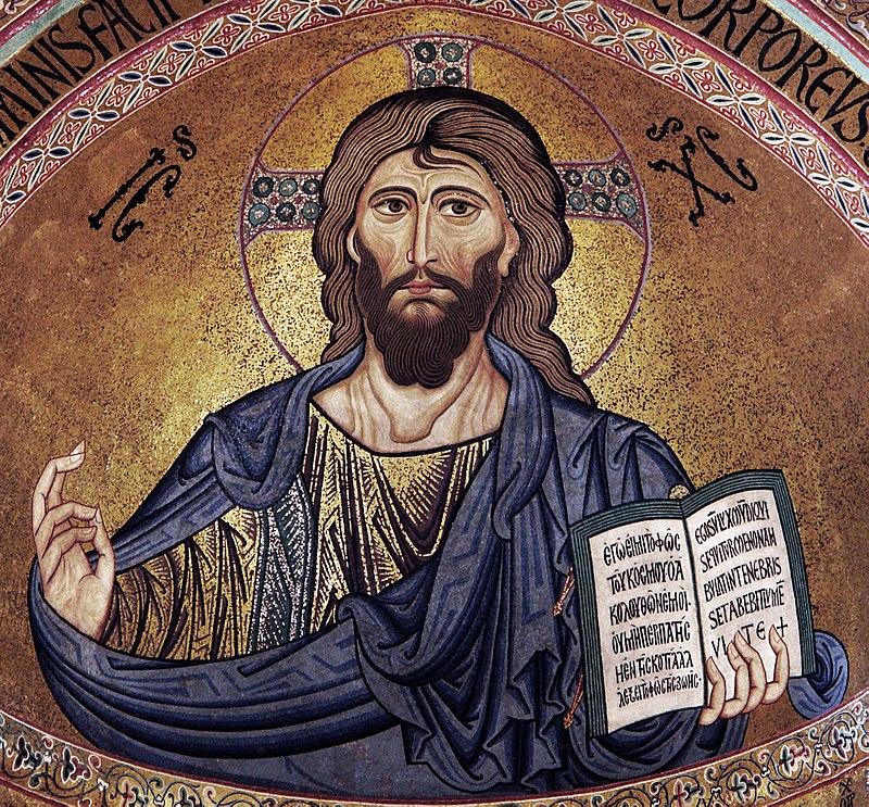 Il Cristo Pantocratore nella Cattedrale di Cefalù