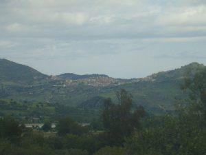 Paesaggio con vista Belvedere Spinello