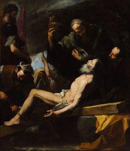 Dipinto del martirio di Sant'Andrea Apostolo