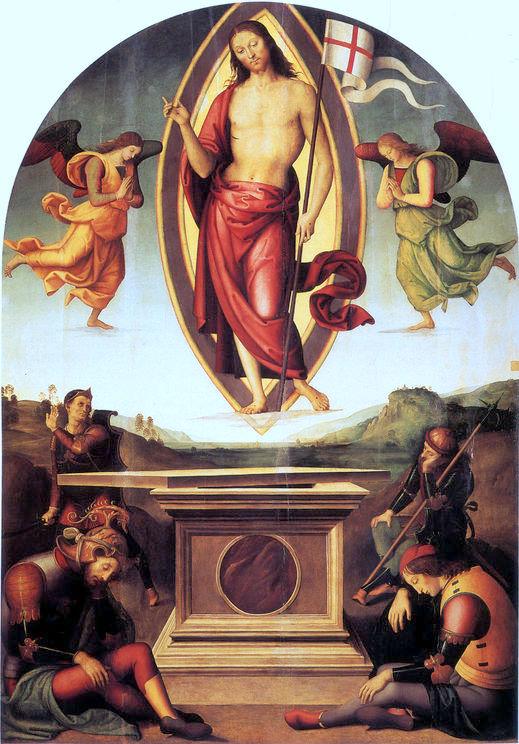 Affresco della risurrezione di Cristo in San Francesco al Prato