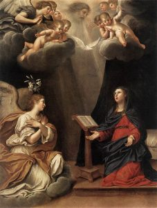 L'annunciazione dell'arcangelo Gabriele a Maria, Francesco Albani