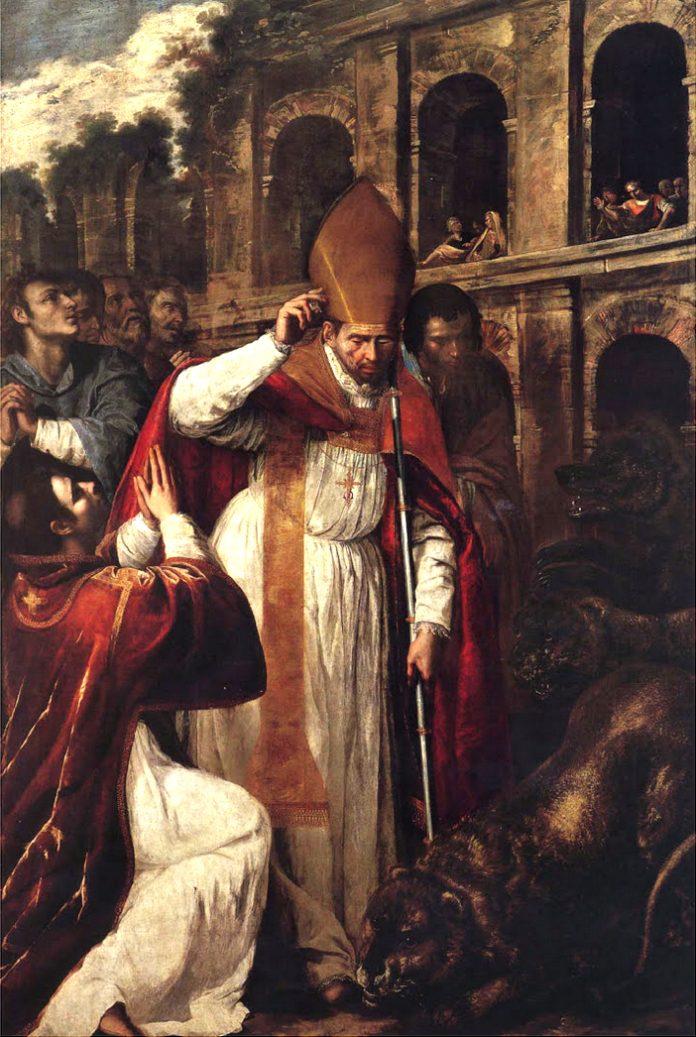 Martirio di San Gennaro all'Anfiteatro di Pozzuoli