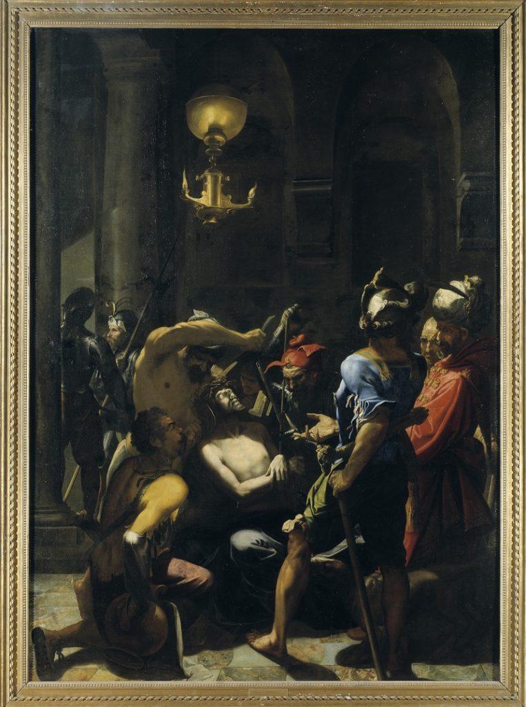 Dipinto che rappresenta la flagellazione di Gesù Cristo