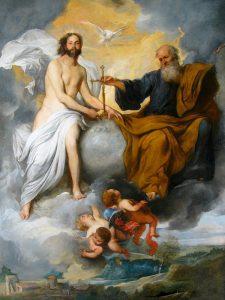"""Dipinto di Pietro Novelli """"Trinità"""""""